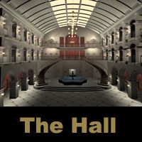 The Hall 3D Models TonyBaas