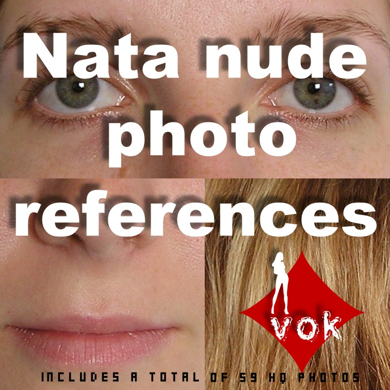 Natali: Nude Photo Reference
