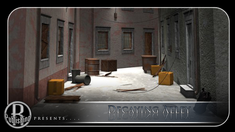 Decaying Alley (Poser, Vue & OBJ) by RPublishing