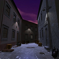 Decaying Alley (Poser, Vue & OBJ) image 2