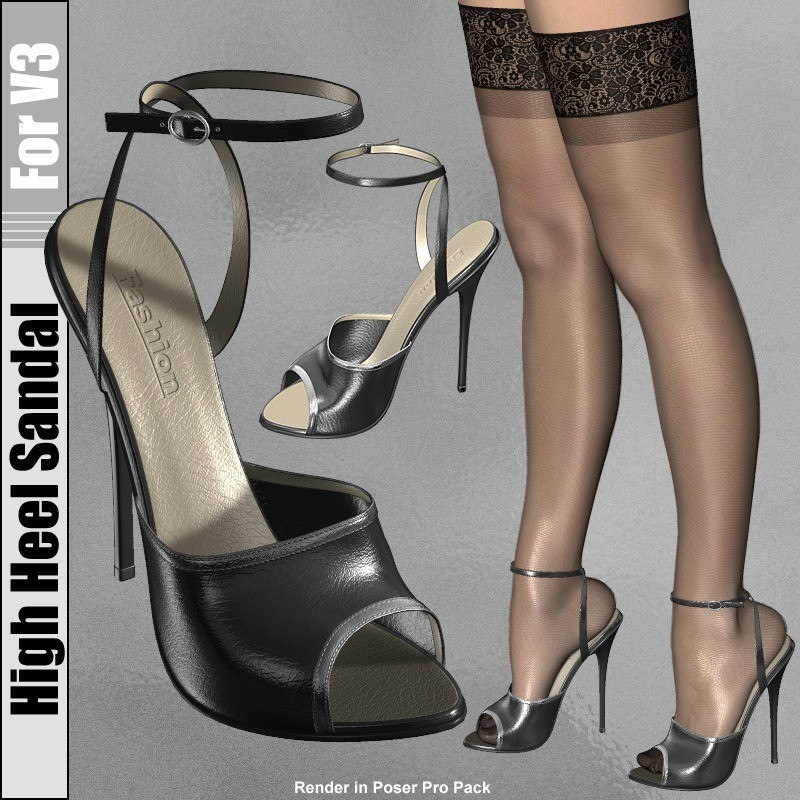 High Heel Sandal for V3