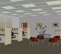 The Office 3D Models TonyBaas