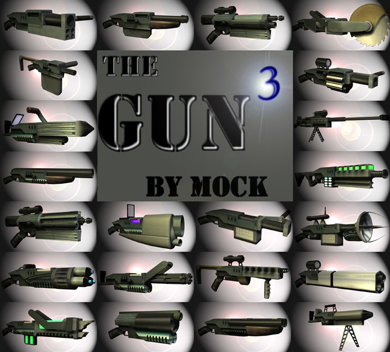 The Gun3 by Mock