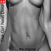 The Girl Next Door 2:  Athletic 3D Figure Essentials Blackhearted