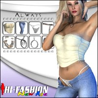 Hi-Fashion (New Age) - Always 3D Models 3D Figure Assets Pretty3D