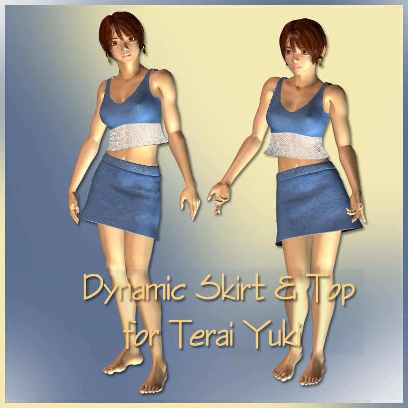Dynamic Skirt and Top for Terai Yuki 1 and 2
