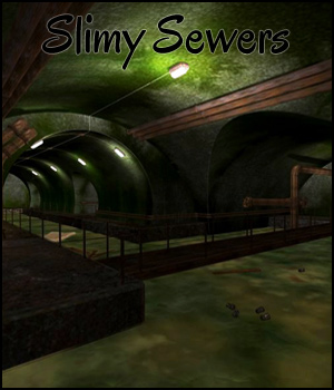 Slimy Sewers (Poser, VUE & OBJ) 3D Models RPublishing