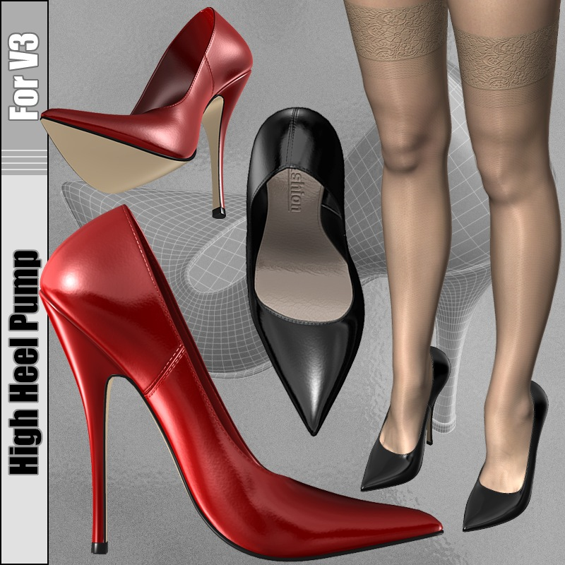 High Heel Pump for V3