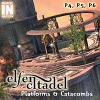 Elfen Citadel: Platforms & catacomb 3D Models winnston1984
