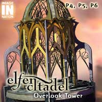 Elfen Citadel: Overlook Tower by winnston1984