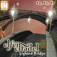 Elfen Citadel: Lighted Bridge 3D Models winnston1984