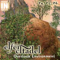 Elfen Citadel: Overlook Tower Environment Pack 3D Models winnston1984