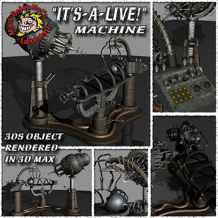 M.S.L. It's-A-Live Machine