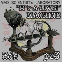 M.S.L. It's-A-Live Machine 3D Models coflek-gnorg