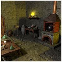 Alchemist Lab (Poser & Vue) Props/Scenes/Architecture Themed RPublishing