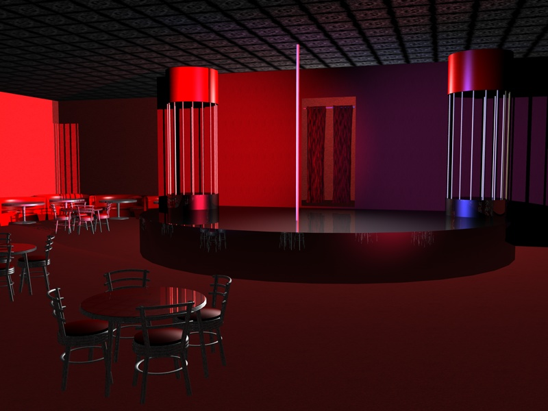 Gene Pool Design Night Club