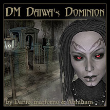 DM Daiwa's Dominion Themed Poses/Expressions Props/Scenes/Architecture Danie