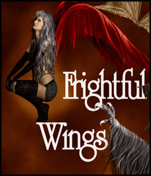 ~*FrightFul Wings*~ 2D Graphics antje