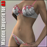 Maiden Lingerie for A3 3D Figure Essentials hongyu