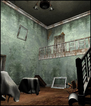 Abandoned House (Poser, Vue & Obj) 3D Models RPublishing