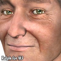 Ralph for M3 - Older Man 2 3D Figure Essentials KymJ