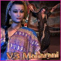 RT-Maharani V3 3D Figure Essentials renapd