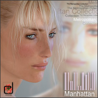 The Metropolitan Collection - Manhattan - 3D Figure Assets danae