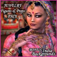 RT-V3 Maharani JEWELS PACK 3D Models 3D Figure Essentials renapd