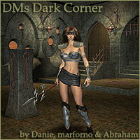 DM's Dark Corner 3D Figure Essentials 3D Models Danie