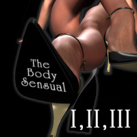 The Body Sensual V3  Combo  I II and III 3D Figure Assets HowartH