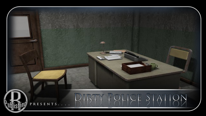 Dirty Police Station (Poser, Vue & OBJ)