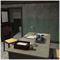 Dirty Police Station (Poser, Vue & OBJ) Props/Scenes/Architecture Themed RPublishing