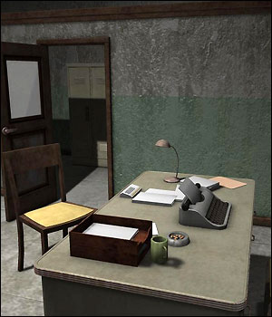 Dirty Police Station (Poser, Vue & OBJ) 3D Models RPublishing