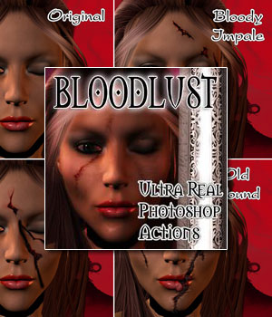Bloodlust FX 2D Graphics Darkworld