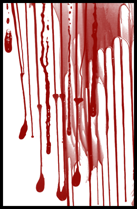 50 Blood Drip and Splatter Brushes