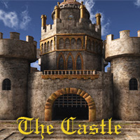 The Castle 3D Figure Assets 3D Models deadhead
