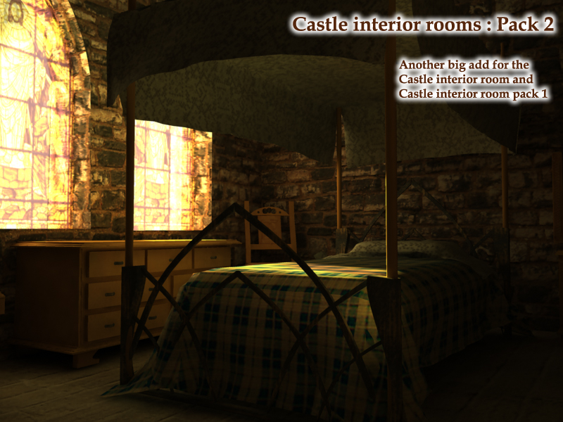 Castle interior rooms Pack2 by rodluc2001