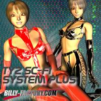 TY2 Sc-Fi System Plus Clothing billy-t