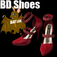 BAT's BD Shoes 3D Figure Essentials BATLAB