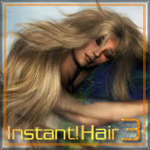 Instant! Hair 3 3D Models 2D Graphics ilona