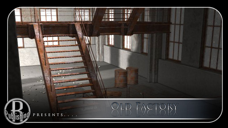 Old Factory (Poser, Vue & OBJ) by RPublishing