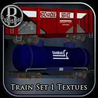 Train Set 1 Textures 3D Models RPublishing
