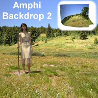 Amphi Backdrop 2 3D Models 3dCritter