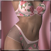 Maiden lingerie 3 for Victoria 3.0 Clothing Software hongyu