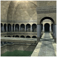 Fantastic Arches (Poser, Vue & OBJ) 3D Models RPublishing
