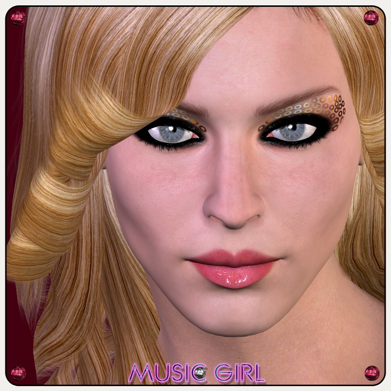 Music Girl Character Xtras Outoftouch