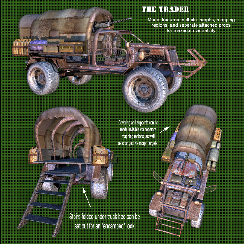 Roaring Out of the Wasteland! -  Trader Vehicle