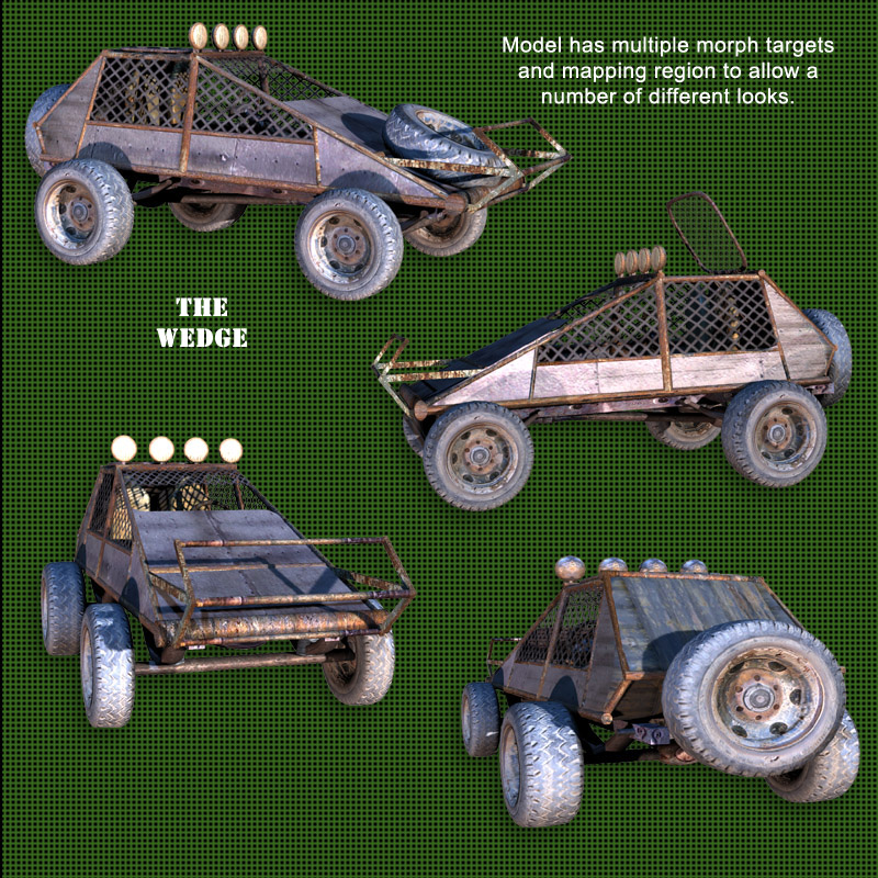 Roaring Out of the Wasteland! -  Wedge Buggy