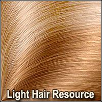 Light Hair Resource 2D Graphics plus3d