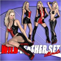 Wild Leather Set - Ultimate  Pretty3D